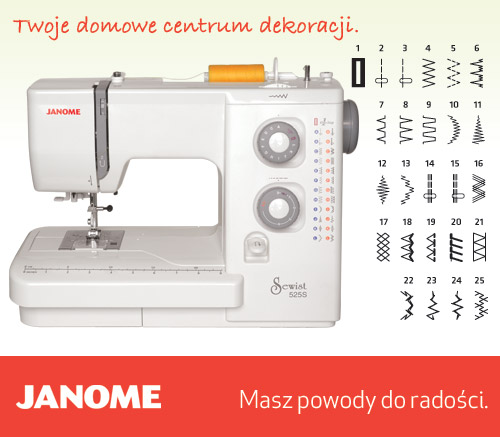 Janome 525S - maszyny-mechaniczne