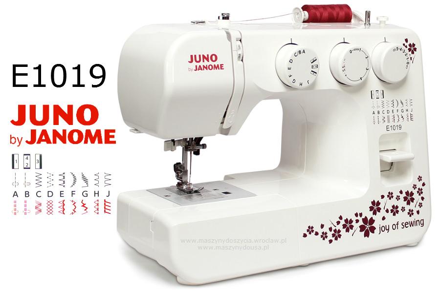 Janome Juno E1019 - maszyny-mechaniczne
