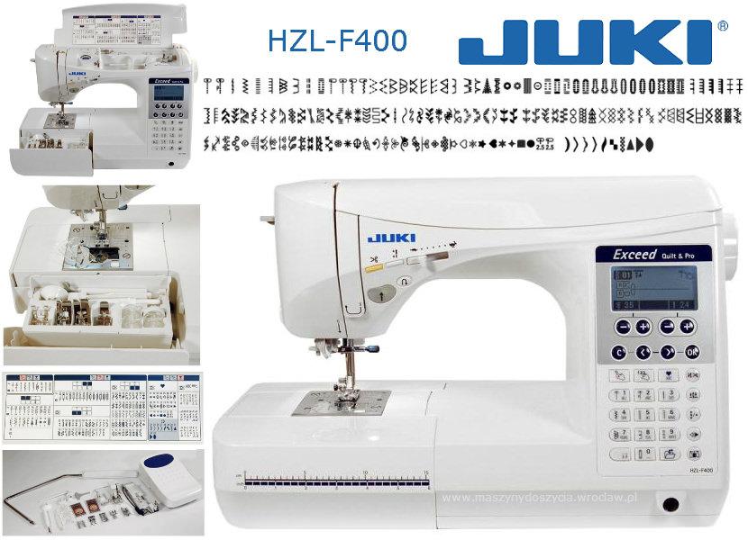 Juki HZL-F400 - maszyna-komputerowa