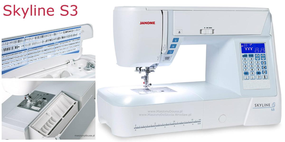 Janome Skyline S3 - maszyna-komputerowa