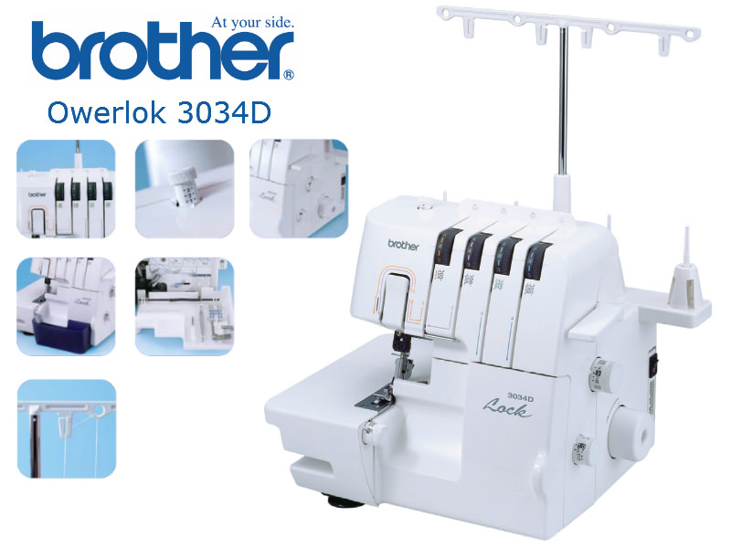 Brother 3034D - overlock