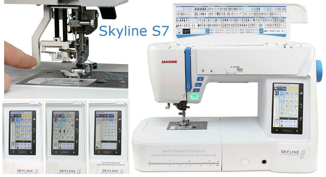 Janome Skyline S7 - maszyna-komputerowa