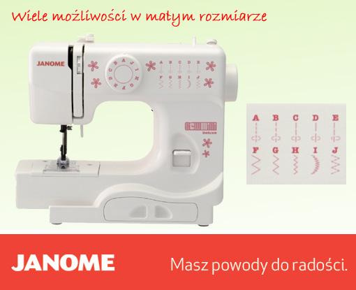 Janome SewMini DeLuxe - maszyny-mechaniczne