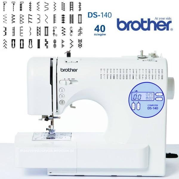 Brother DS-140 - maszyna-komputerowa