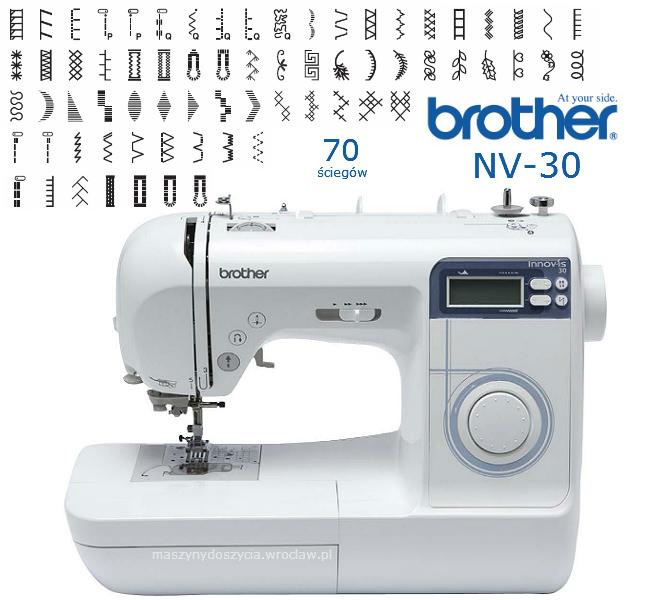 Brother NV-30 - maszyna-komputerowa