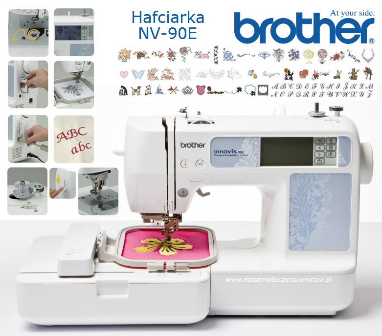 Brother NV-90E - hafciarka