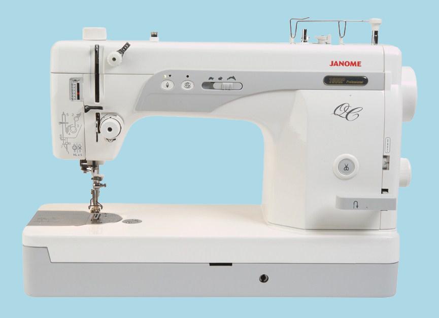 Janome 1600P QC - maszyna-specjalna