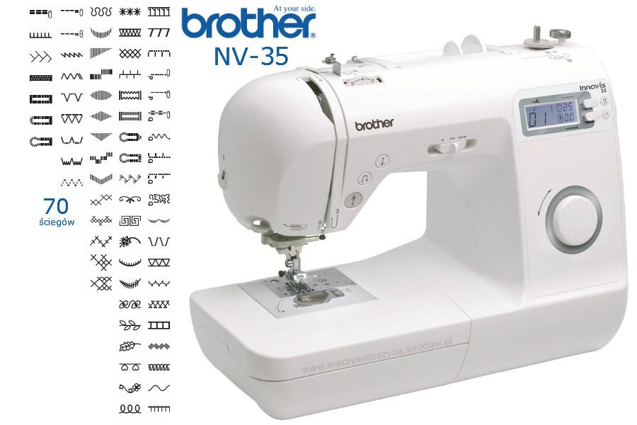 Brother NV-35 - maszyna-komputerowa