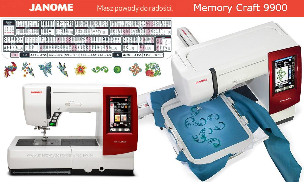 Janome MC9900 - maszyna-komputerowa