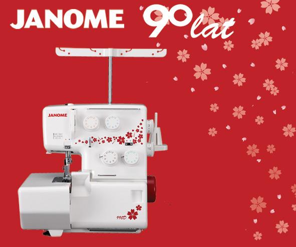 Janome 990D - overlock