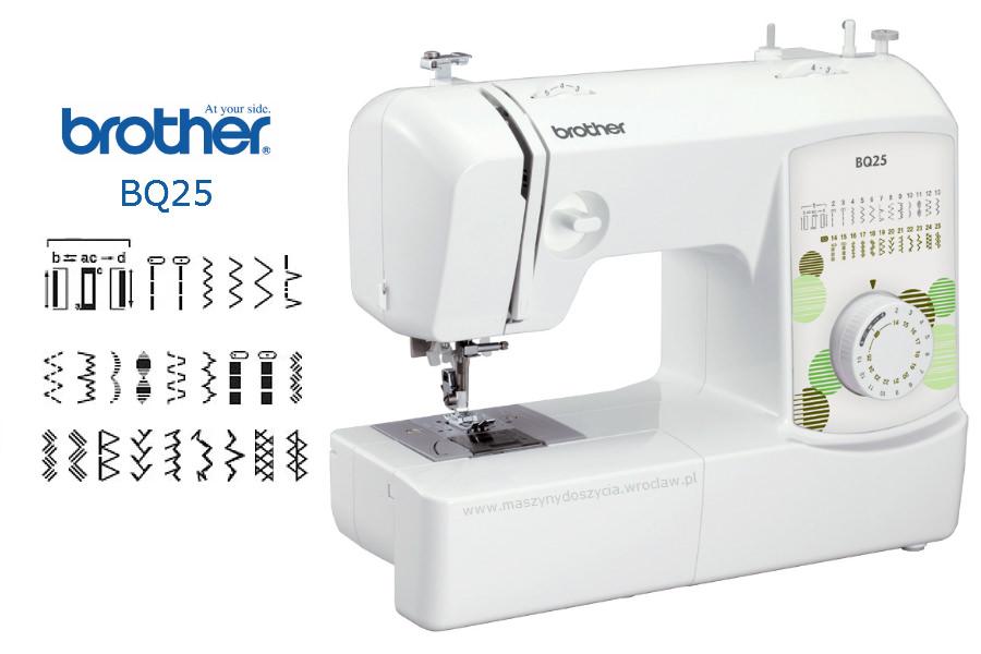 Brother BQ25 - maszyny-mechaniczne