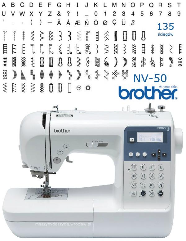 Brother NV-50 - maszyna-komputerowa