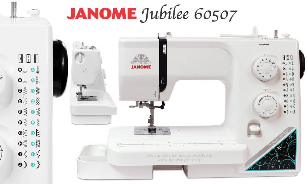 Janome Jubilee 60507 - maszyny-mechaniczne