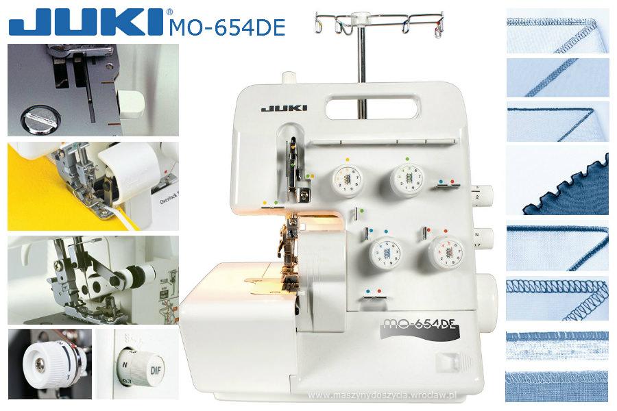 Juki MO-654DE - overlock