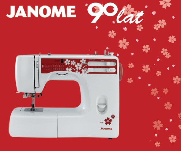 Janome 920 - maszyna-mechaniczna
