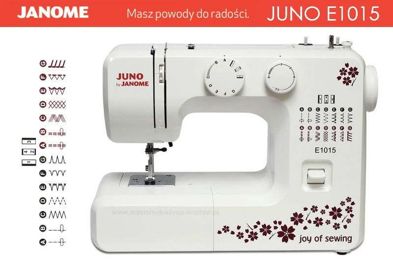 Janome Juno E1015 - maszyny-mechaniczne