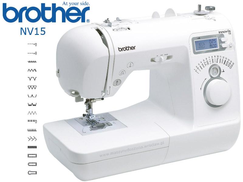 Brother NV-15 - maszyna-komputerowa