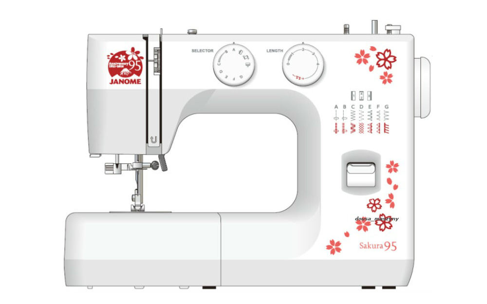 Janome Sakura 95 - maszyny-mechaniczne