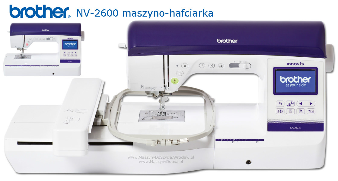 Brother NV2600 - hafciarka