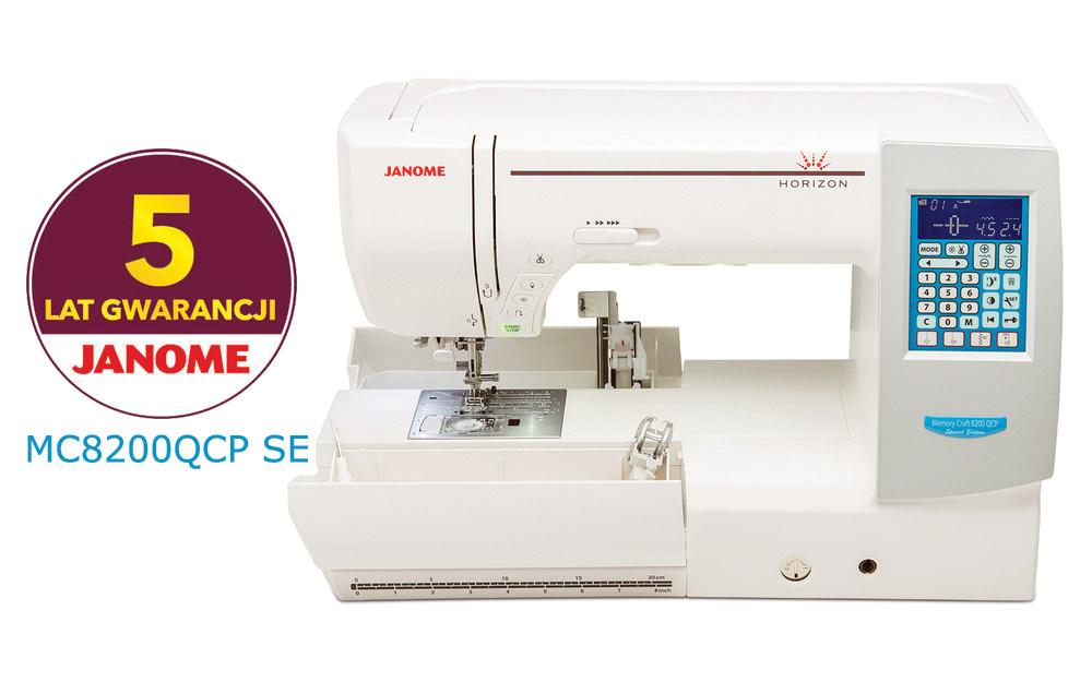 Janome MC8200QC SE - maszyna-komputerowa