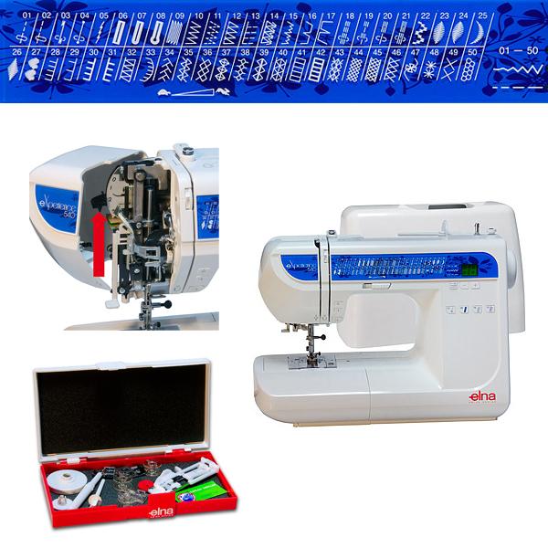 Elna eXperience 540 - maszyna-komputerowa