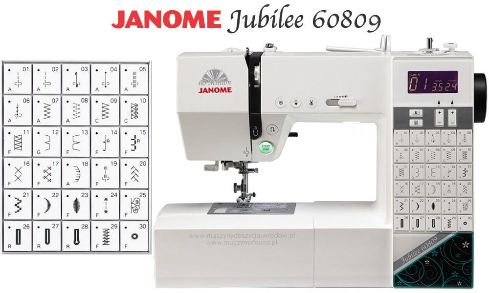 Janome Jubilee 60809 - maszyna-komputerowa