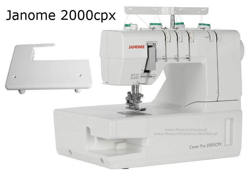 Janome 2000CPX - coverlock