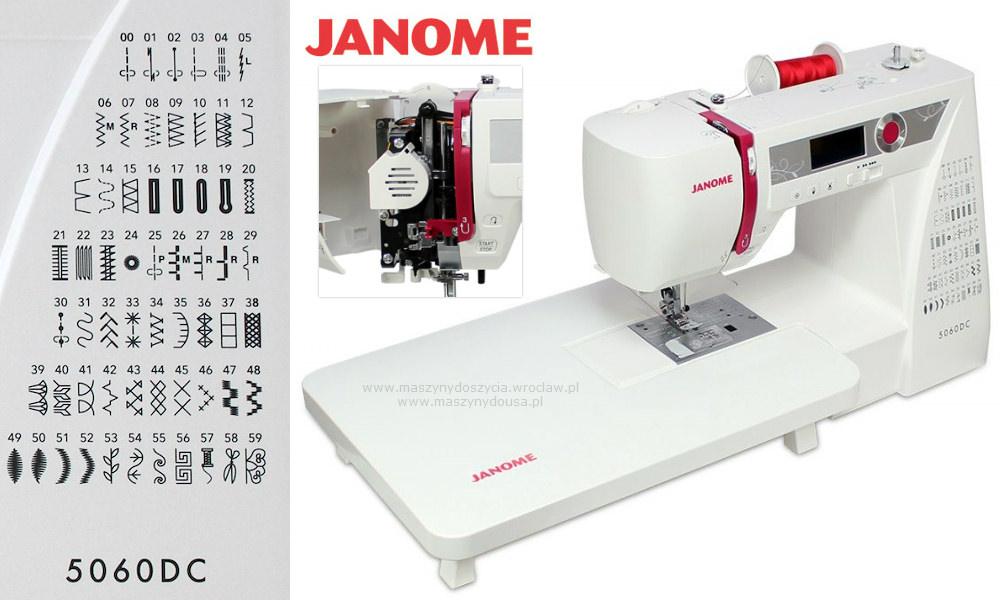 Janome 5060DC - maszyna-komputerowa