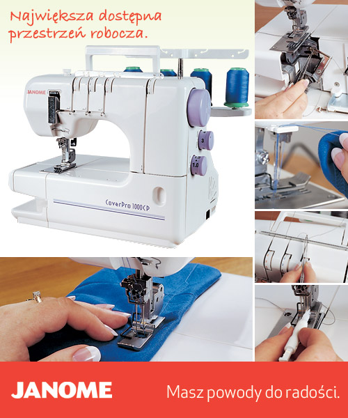 Janome 1000 Cover Pro Xtra - coverlock
