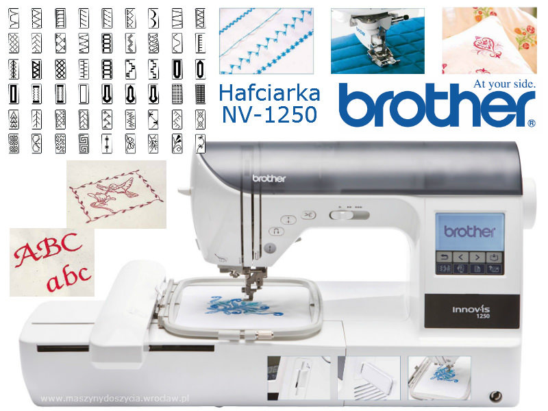 Brother NV-1250 - hafciarka