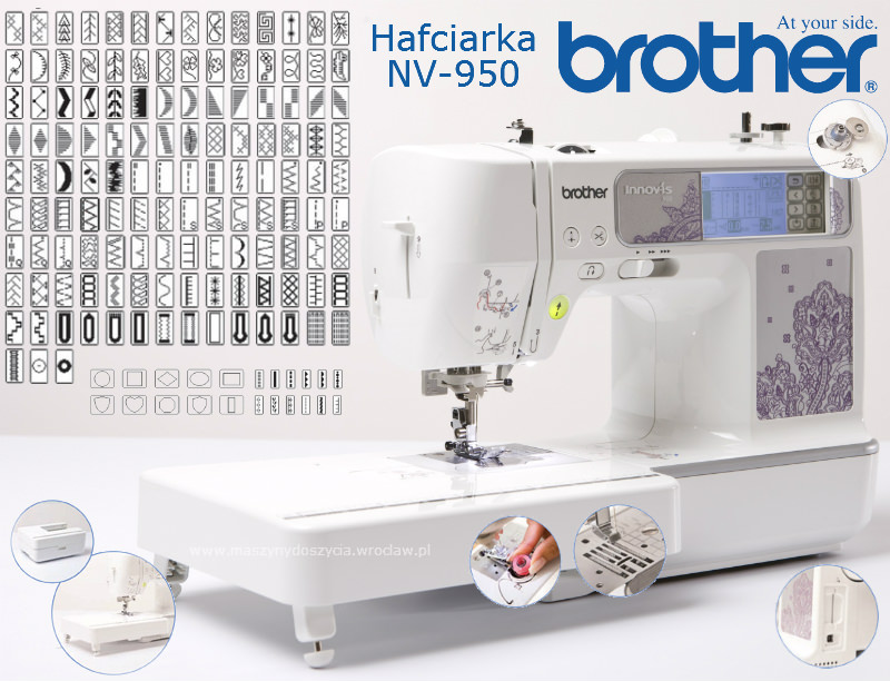 Brother NV-950 - hafciarka