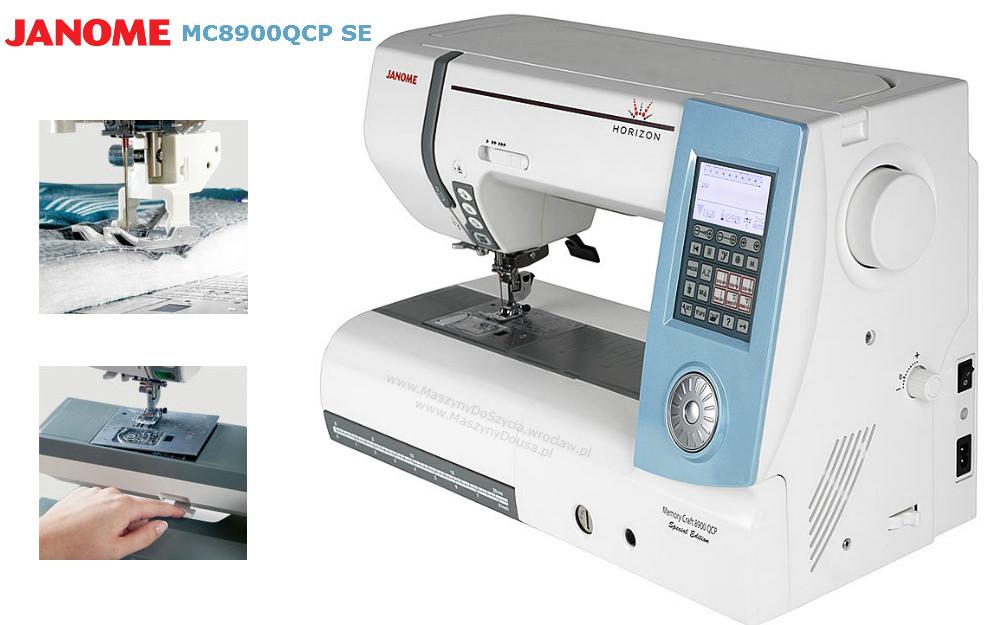 Janome MC8900QCP SE - maszyna-komputerowa
