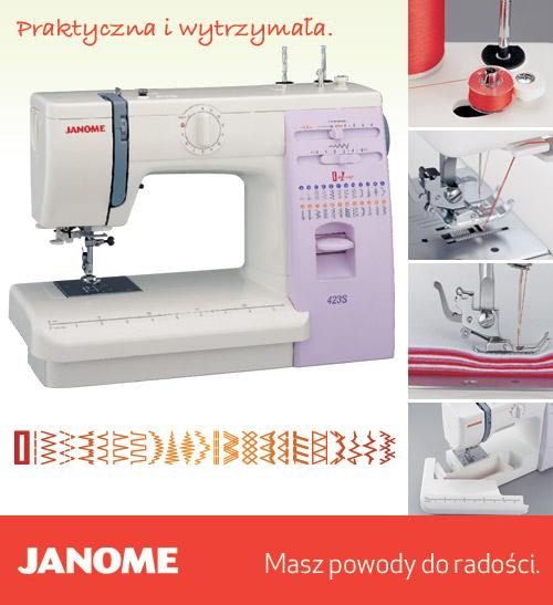 Janome 423S - maszyna-mechaniczna