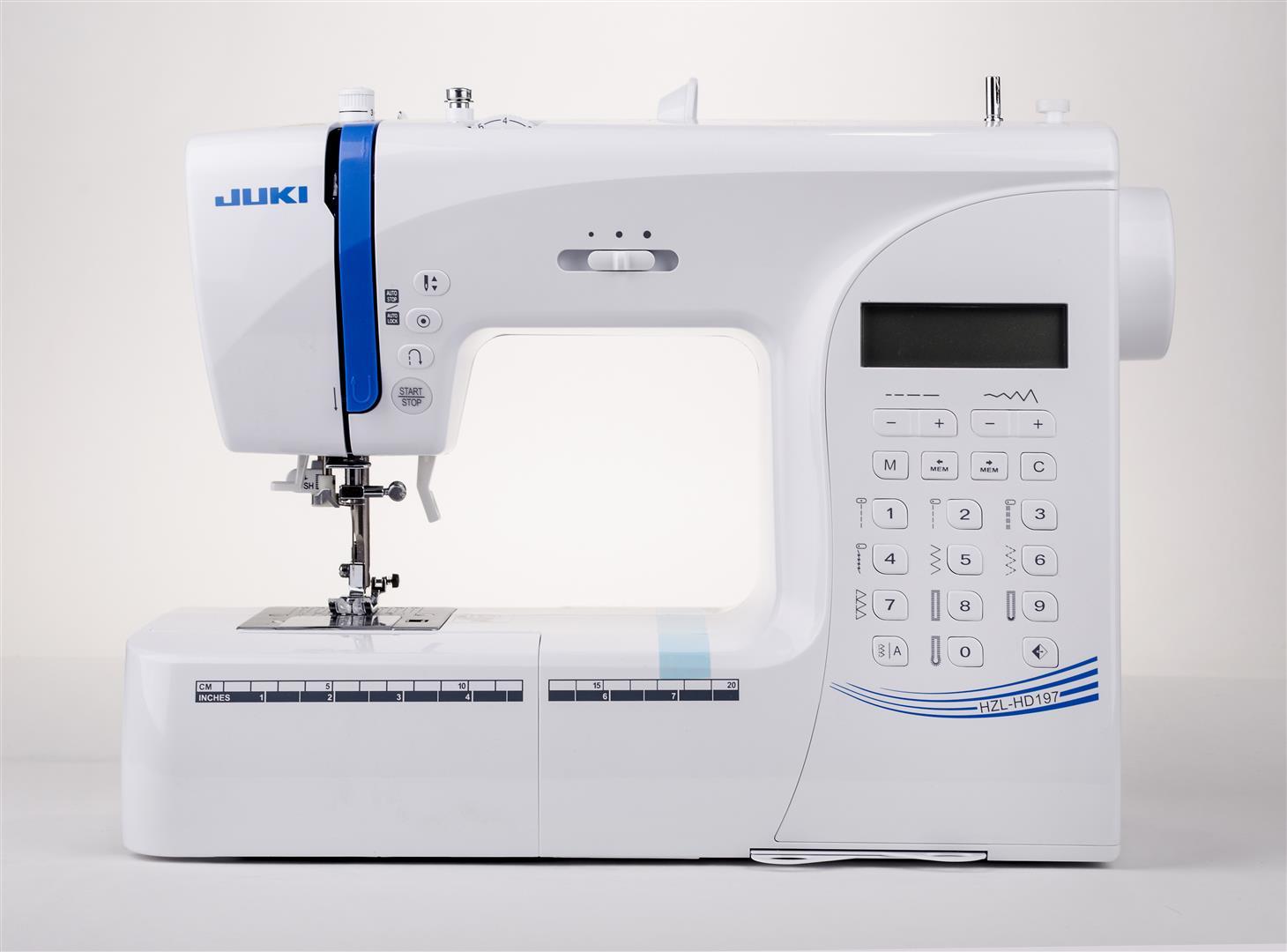 Juki HZL-HD 197 - maszyna-komputerowa