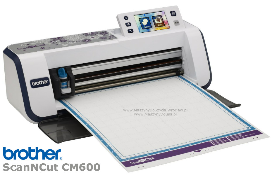 Brother ScanNCut CM600 - ploter