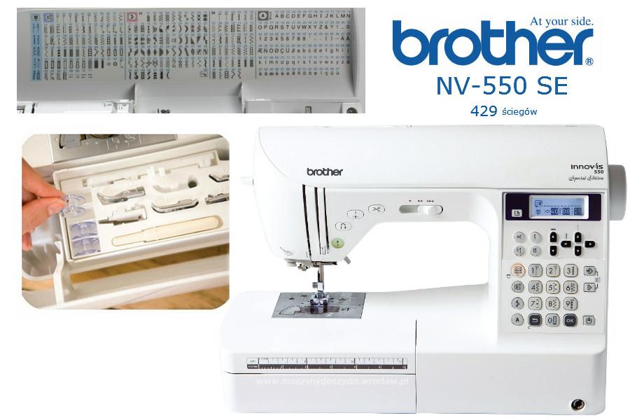 Brother NV-550 SE - maszyna-komputerowa