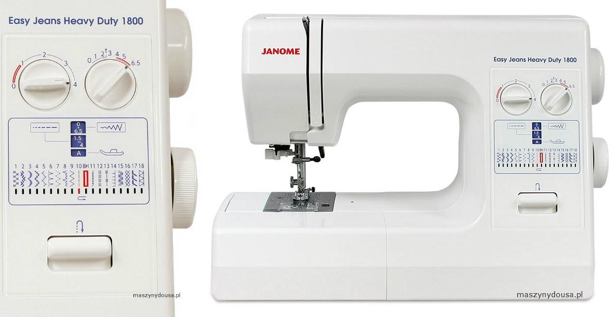 Janome HD1800 - maszyna-mechaniczna