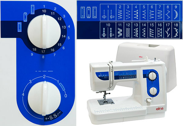 Elna eXplore 320 - maszyna-mechaniczna