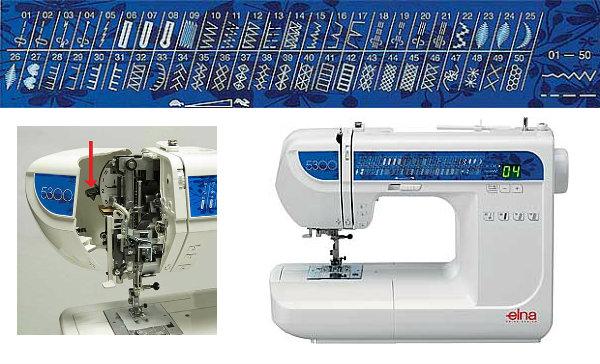 Elna 5300 - maszyna-komputerowa