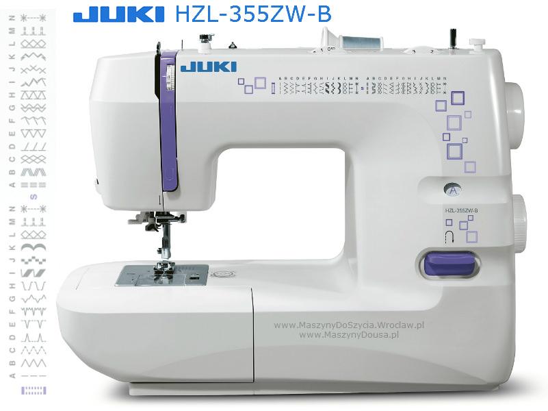Juki HZL-355ZW-B - maszyna-mechaniczna