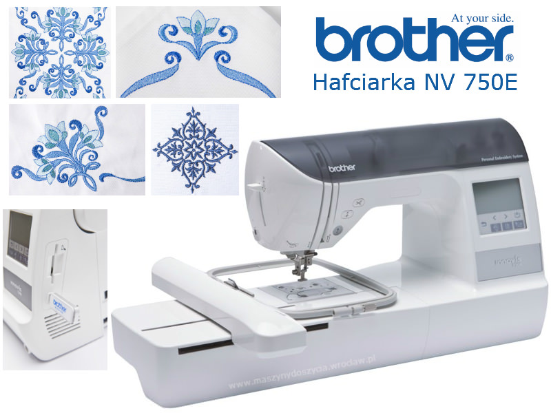 Brother NV-750E - hafciarka