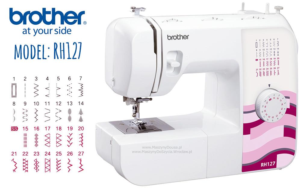 Brother RH127 - maszyny-mechaniczne