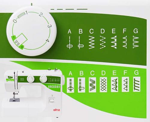Elna 1000 Sew Fun Green - maszyny-mechaniczne