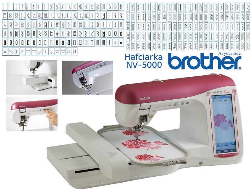 Brother NV-5000 LA - hafciarka