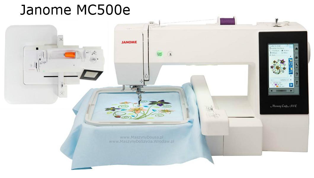 Janome MC500e - hafciarka