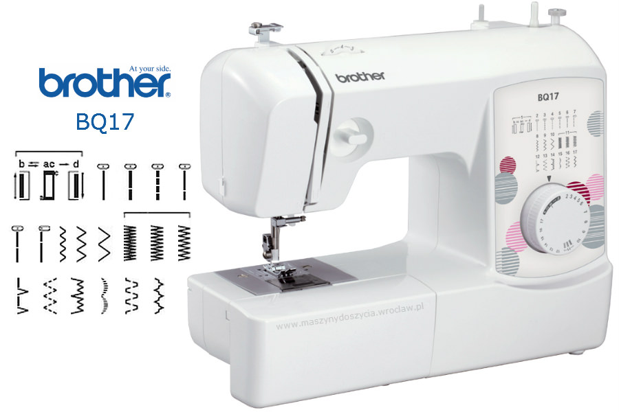 Brother BQ17 - maszyna-mechaniczna