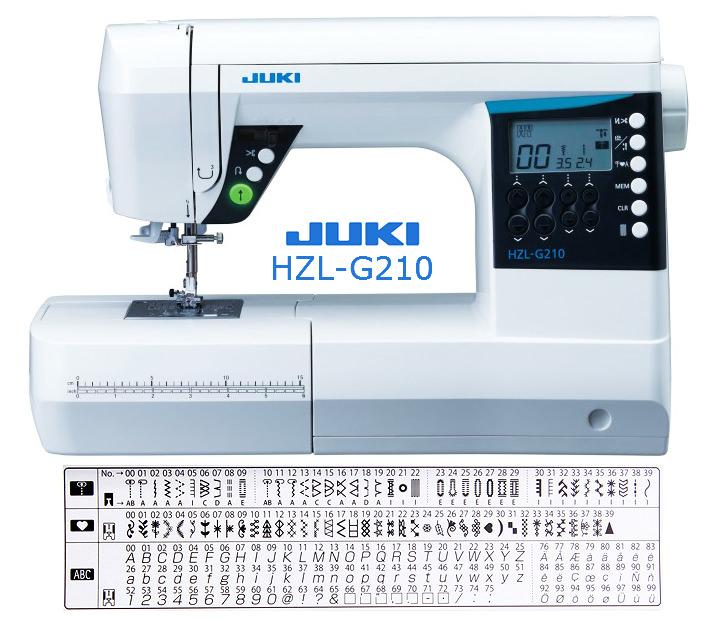 Juki HZL-G210 - maszyna-komputerowa