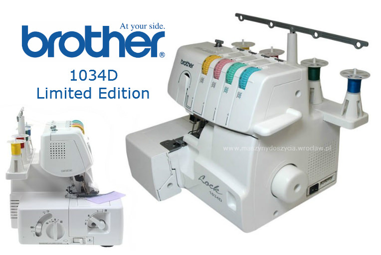 Brother 1034D LE - overlock