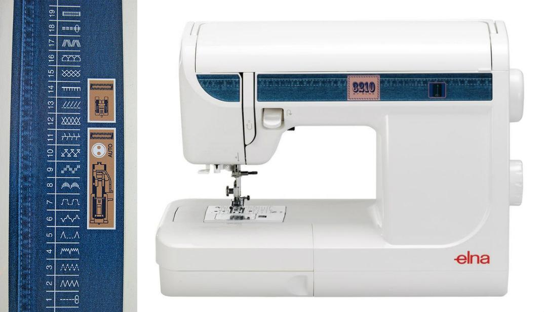 Elna 3210 Jeans - maszyny-mechaniczne