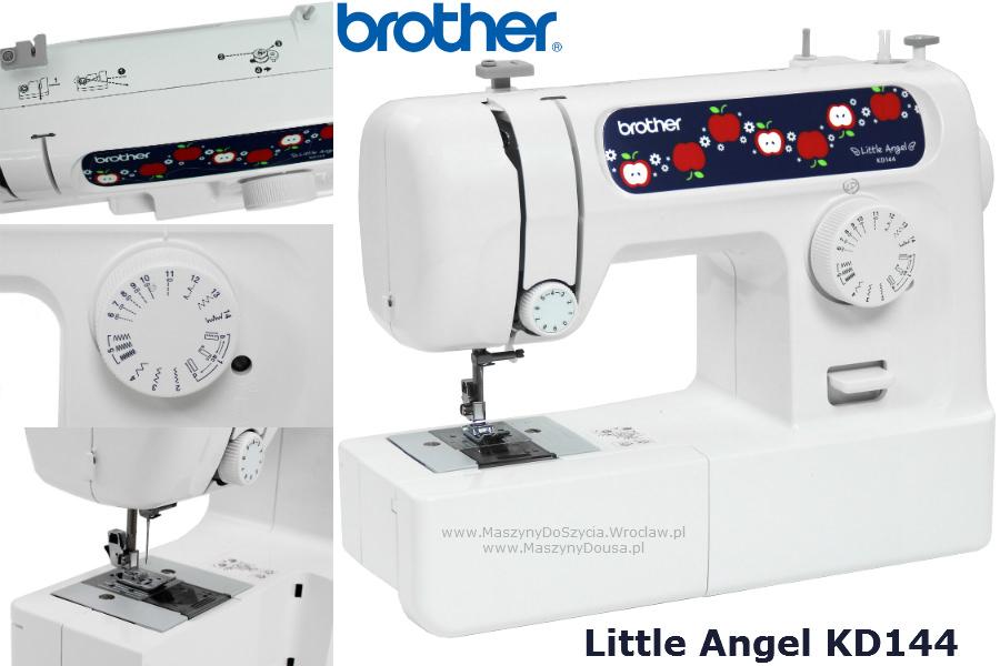 Brother Little Angel KD144 - maszyna-mechaniczna